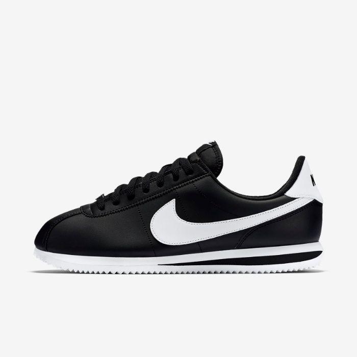 Nike Cortez. Rozmiar 43. Czarne Białe. SUPER CENA! Udryn - image 1