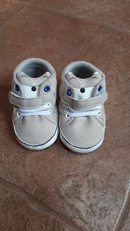 Пинетки туфли кеды кроссовки первая обувь 6-12 мес, 12см