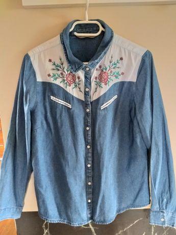 Koszula jeansowa 44