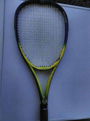 raquete de tenis Sergio Tacchini com saco original+bolas