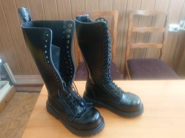 Женские высокие ботинки,берцы. 36 -й размер.