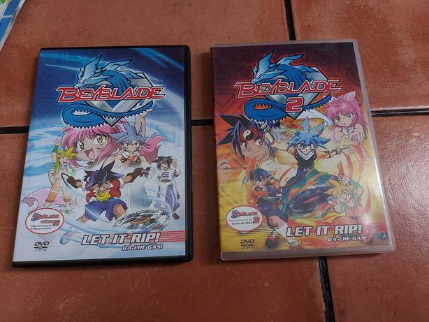 DVDs Beyblade (em Português)