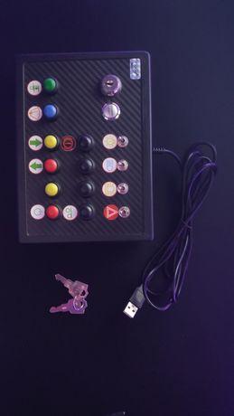 Button box (15 przycisków + stacyjka)
