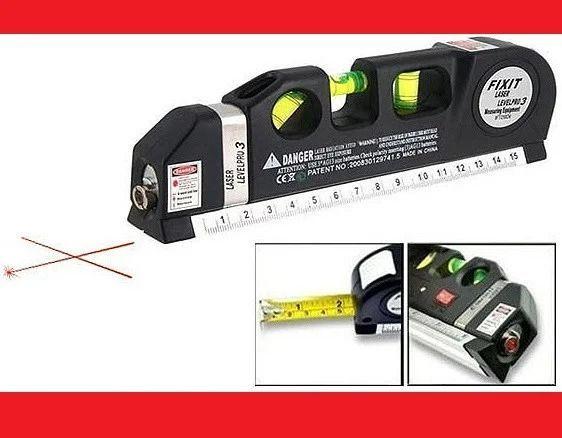 Хит продаж! Лазерный уровень со встроенной рулеткой расстояние до 15 м