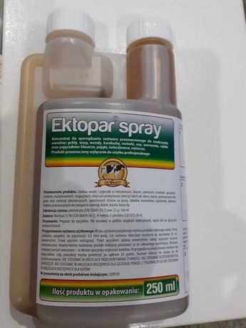Ektopar spray koncentrat (permetryna)