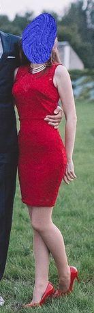 sukienka koronkowa xs s