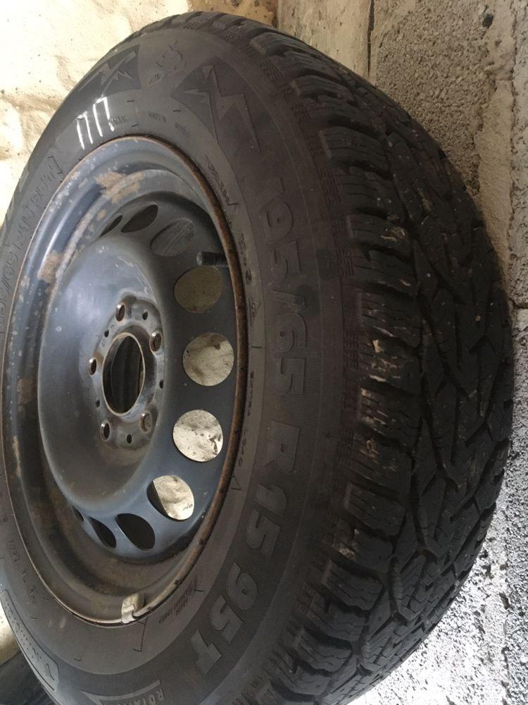 Зимові колеса з дисками BMW