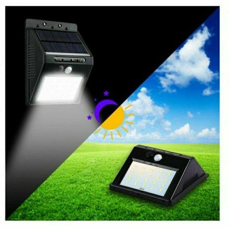 Уличный LED фонарь на солнечной батарее