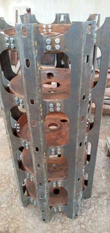 Молотильный барабан подбичники подбарабанье ск 5 НИВА ДОН 1500 ремонт