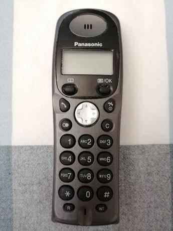 Telefon stacjonarny bezprzewodowy Panasonic.