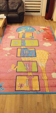 Dywan dla dziecka 200x300 cm, dywan dziecięcy, dywan gra w klasy