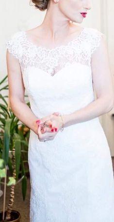 Suknia ślubna rybka wzór Allure Bridals 9000 rozm. 34