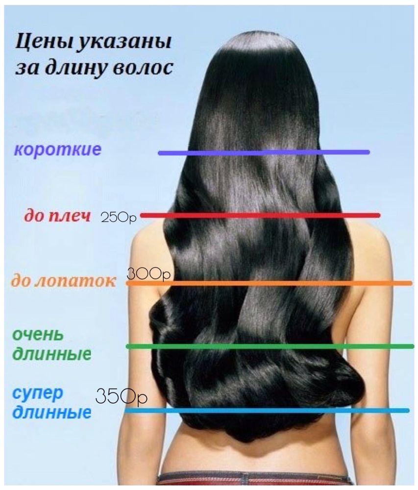 Полировка волос    Окрашивание   Стрижка концов  