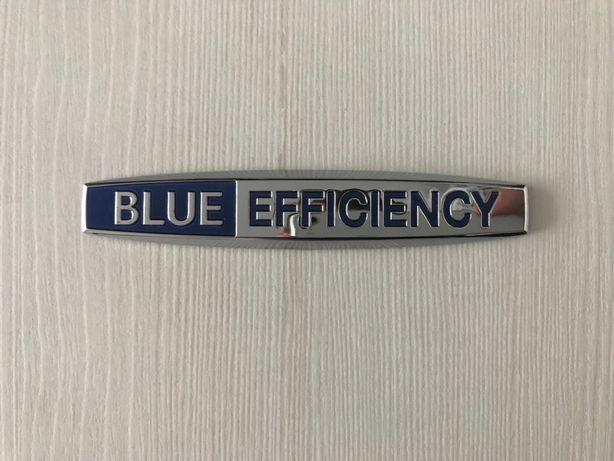 BLUE EFFIENCY emblemat znaczek logo 2szt.