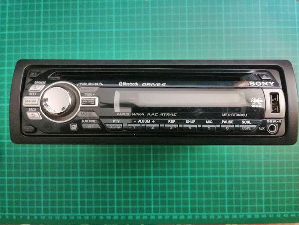 Radio samochodowe SONY MEX-BT3600U
