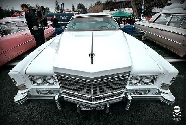 Cadillac Eldorado Cabrio 1974r. samochod do ślubu auto na wesele inne