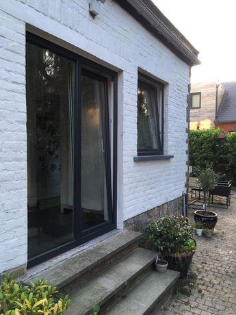 Okna drutex antracyt drzwi tarasowe