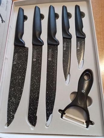Набор ножей Zillinger, ножи кухонные, нож кухонный.