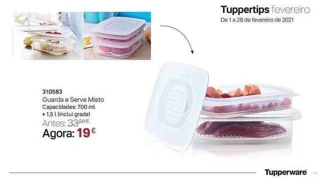 Guarda e Serve Tupperware