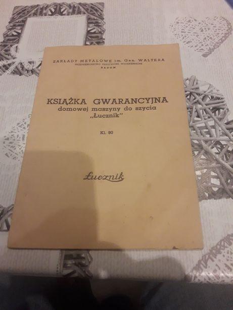 książka gwarancja