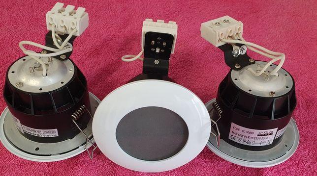 Projetores Softlight IP65 GU10 e várias Lâmpadas LED e Economizadoras