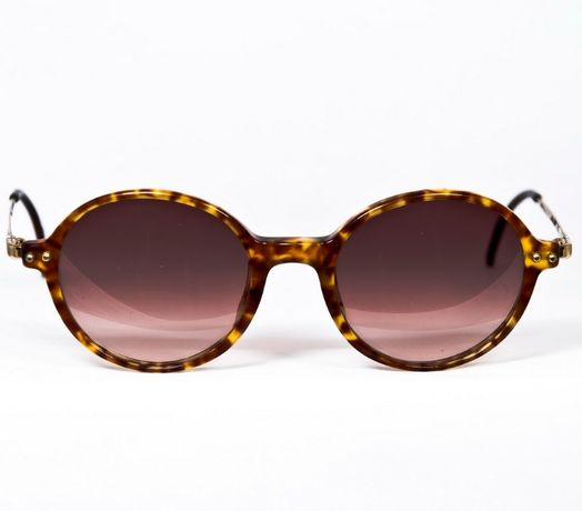 Очки Giugiaro круглые, винтаж, новые, Made in Italy