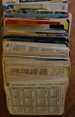 Calendários de bolso