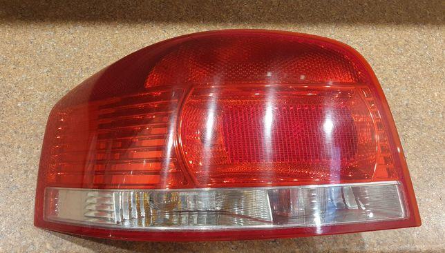 Lampa tylna P prawa Audi A3 8P 04-08 3 drzwi - Hatchback. Okazja!