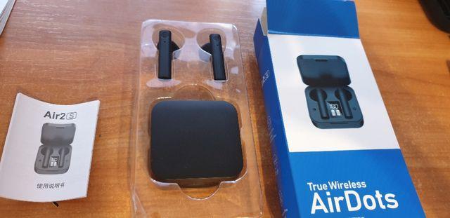 Słuchawki bezprzewodowe Bluetooth AirDots (Air2S], powerbank LED