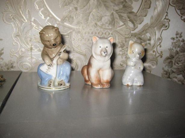 Продам фарфоровые статуэтки ЛФЗ разные
