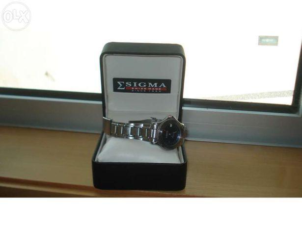 Relógio aço Sigma