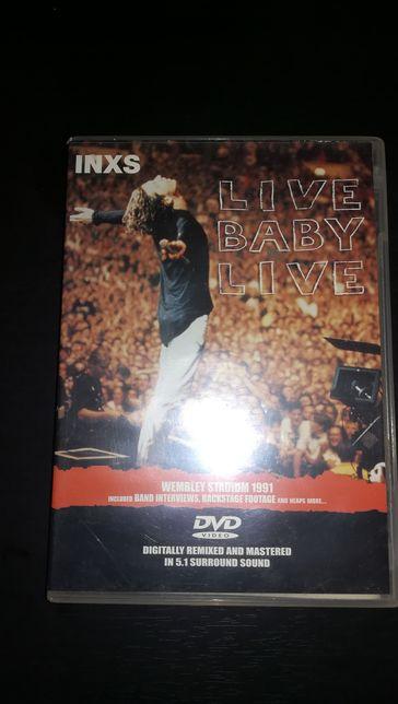 """DVD INXS """" Live Baby Live Tour """" Wembley 1991 (COMO NOVO)"""