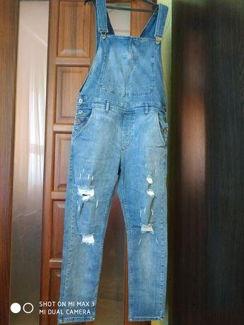 Продам джинсовий новий комбінізон