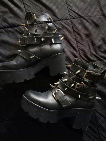 Botas estilo gótico