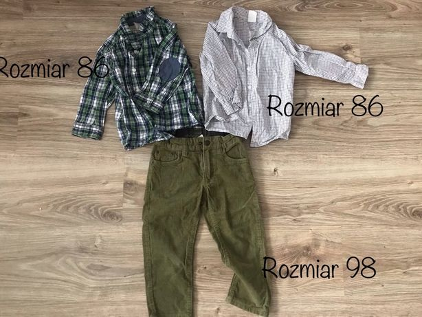 Ubranka dla chłopca 86 H&M