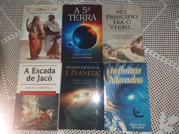 Livros Espiritas de Carlos Baccelli