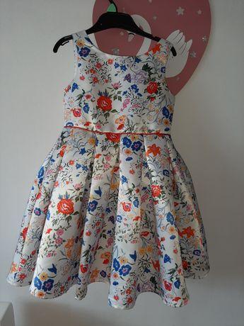 J.NOWA elegancka suknia 5-6 lat ślub przyjęcie h&m