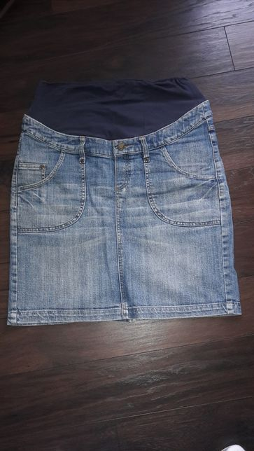 Spódnica ciążowa jeansowe roz 38