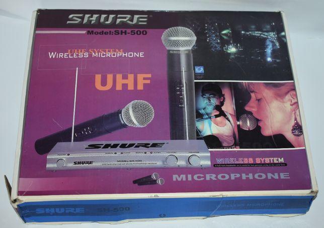 радиосистема shure model SH-500 UHE system wireless microphone в короб