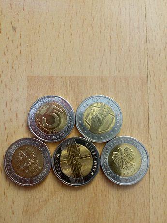 Moneta okolicznościowa 5 zł -100 lecie odzyskania niepodległości