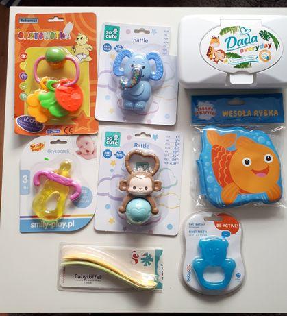 Zabawki i akcesoria dla maluszka