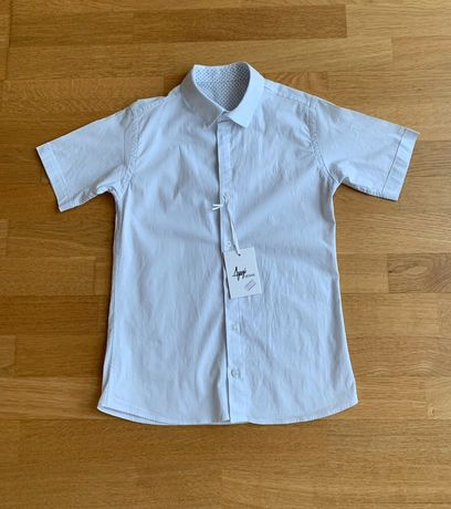 Рубашка школьная Ayugi denim для мальчика 152 см (12л.)