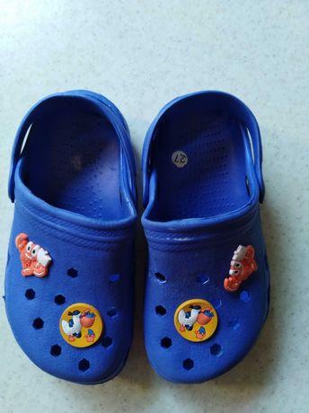 Klapki buty dziecięce typu crocsy do wody rozmiar 27