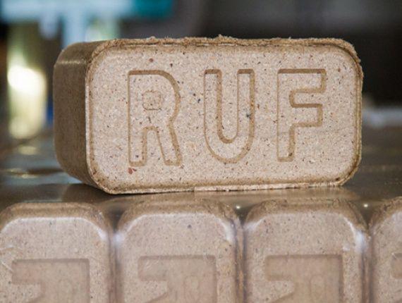 Високоякісні паливні брикети RUF (дуб та граб/ясень) 3500 грн за т.