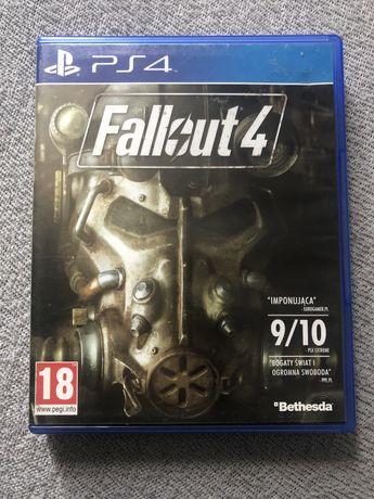 Ps4 Fallout 4 + plakat