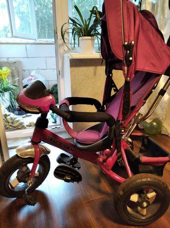 Велосипед трёхколёсный детский