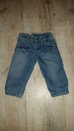 Spodenki krótkie jeansowe chłopięce rozmiar 146