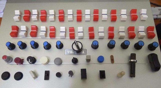 Lote knob (botões) mesa mistura amplificador knobs
