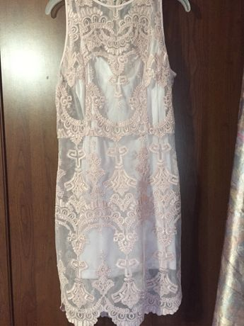 Выпускное коктельное платье H&M