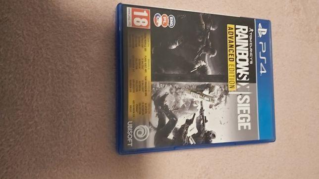 Gra na Ps4 Rainbowsix Siege Advanced Edition